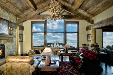 Gallatin Construction Custom Home, Western Montana