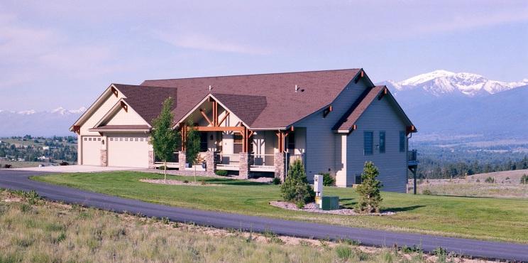 Gallatin Construction Custom Home, Missoula, Montana
