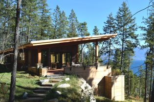 Gallatin Construction Custom Home, Flathead Lake, Montana