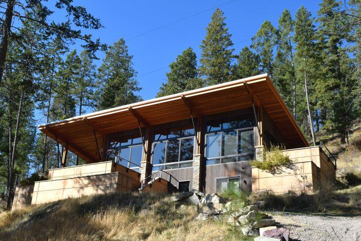 Montana Modern Lake Home